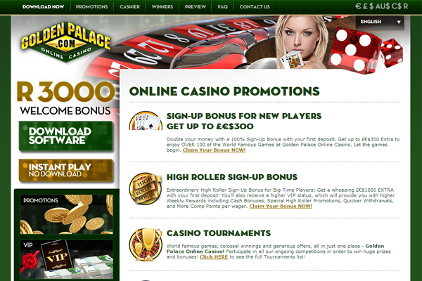 golden palace online casino  online spielen