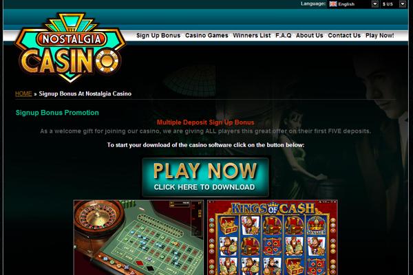Nostalgia Casinos