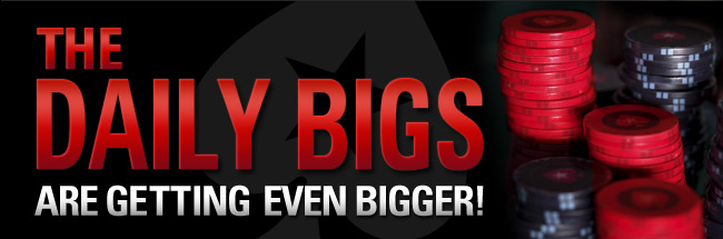 poker stars daily bigs