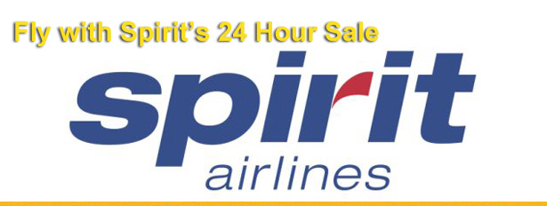 spirit airlines sale