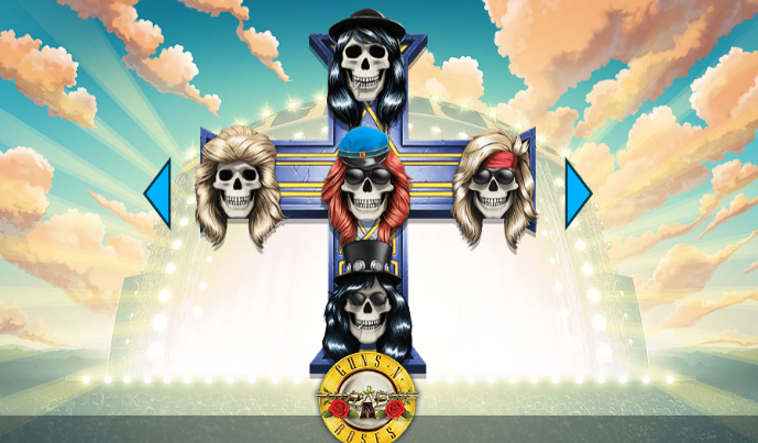 Win Free Spins On The New Guns N' Roses Slot Game