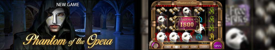 slotland phantom of the opera slot