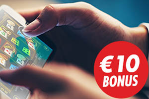 Download Free Casino Mobile App, Get 10 Euro Free!